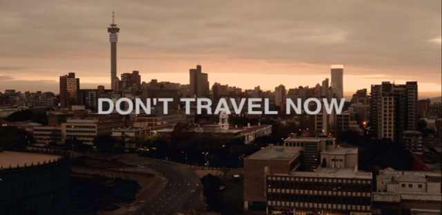 Don't travel