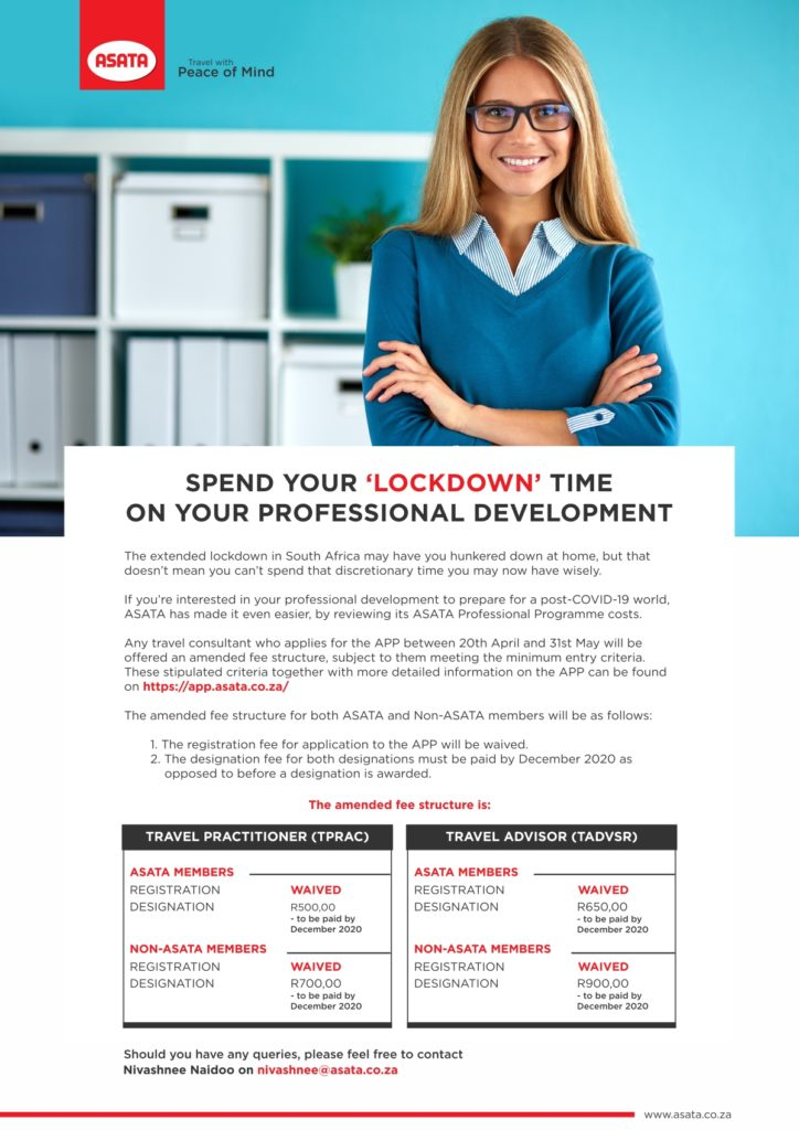 Spend your 'lockdown' time on your personal development 1