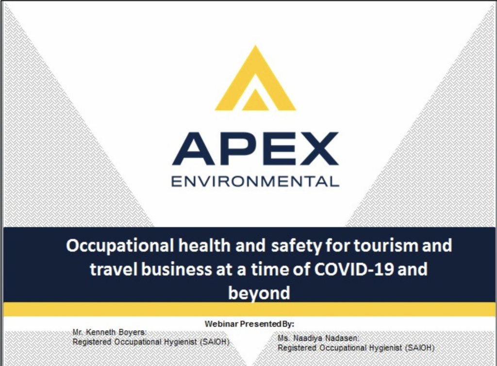 FAQ: Occupational Health And Safety for Tourism and Travel Businesses 1