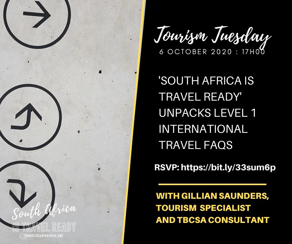 Invitation: Tourism Tuesday - Unpacking Level 1 International Travel FAQs 1